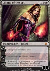 MTG Card: Liliana of the Veil