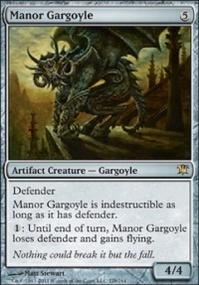 MTG Card: Manor Gargoyle