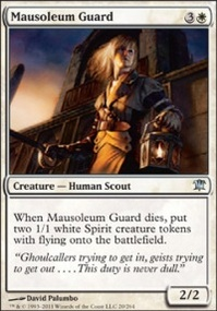 MTG Card: Mausoleum Guard