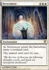 MTG Card: Nevermore