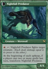 MTG Card: Nightfall Predator