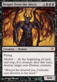 MTG Card: Reaper from the Abyss