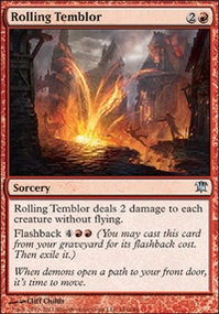 MTG Card: Rolling Temblor