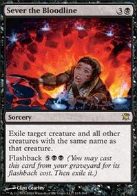 MTG Card: Sever the Bloodline