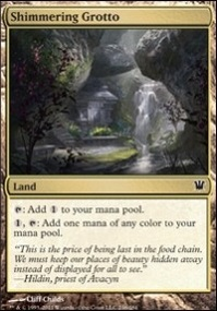 MTG Card: Shimmering Grotto