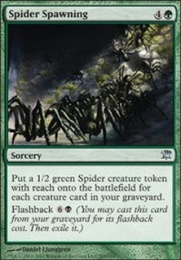 MTG Card: Spider Spawning