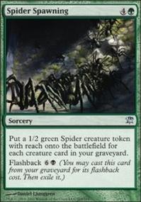 MTG Card: Spider Spawning