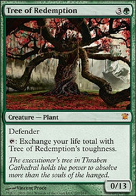 MTG Card: Tree of Redemption