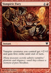 MTG Card: Vampiric Fury