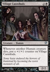 MTG Card: Village Cannibals