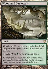 MTG Card: Woodland Cemetery