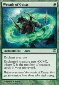 MTG Card: Wreath of Geists