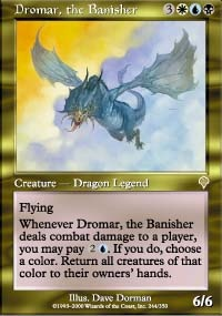 MTG Card: Dromar, the Banisher