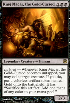 King Macar, the Gold-Cursed