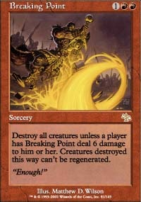 MTG Card: Breaking Point