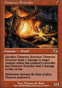 MTG Card: Dwarven Scorcher