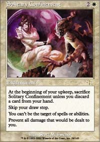 MTG Card: Solitary Confinement