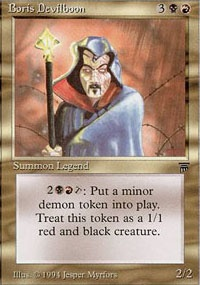 MTG Card: Boris Devilboon