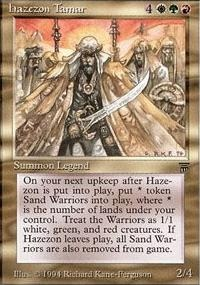 MTG Card: Hazezon Tamar