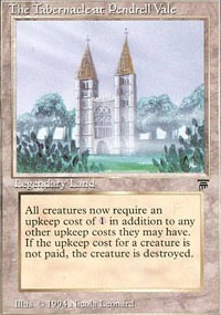 MTG Card: The Tabernacle at Pendrell Vale