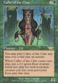 MTG Card: Caller of the Claw