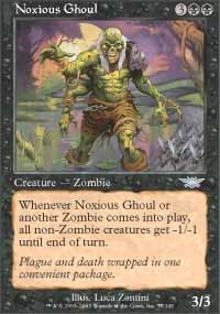 MTG Card: Noxious Ghoul