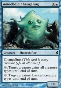 MTG Card: Amoeboid Changeling