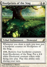 MTG Card: Hoofprints of the Stag