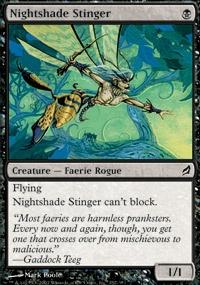 MTG Card: Nightshade Stinger