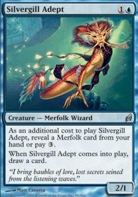 MTG Card: Silvergill Adept