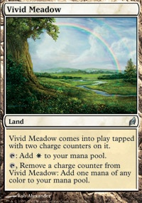 MTG Card: Vivid Meadow