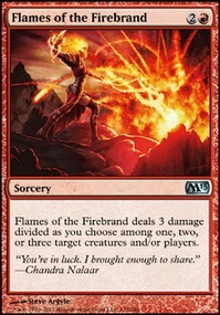 MTG Card: Flames of the Firebrand