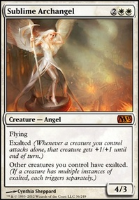 MTG Card: Sublime Archangel
