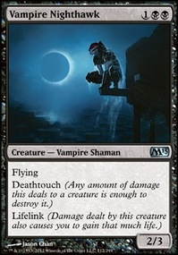 MTG Card: Vampire Nighthawk
