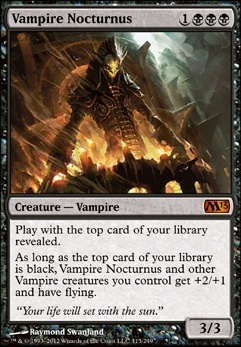 vampire nocturnus m13 mtg card