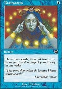 MTG Card: Brainstorm