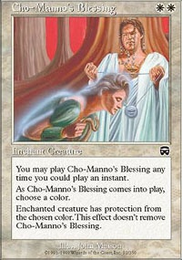 MTG Card: Cho-Manno's Blessing