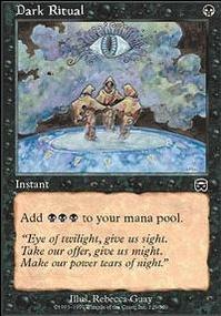 MTG Card: Dark Ritual