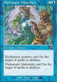 MTG Card: Diplomatic Immunity