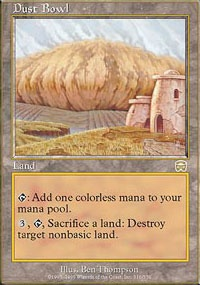 MTG Card: Dust Bowl