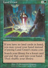 MTG Card: Land Grant