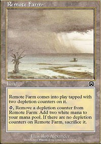 MTG Card: Remote Farm