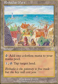 MTG Card: Rishadan Port