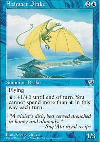 MTG Card: Azimaet Drake