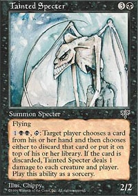 MTG Card: Tainted Specter
