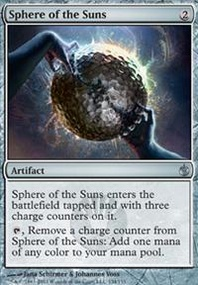 MTG Card: Sphere of the Suns