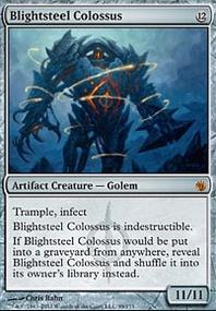 MTG Card: Blightsteel Colossus
