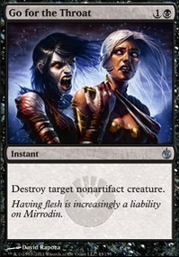 MTG Card: Go for the Throat