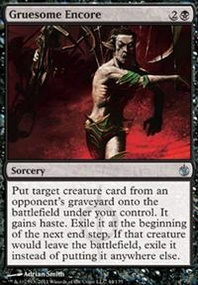 MTG Card: Gruesome Encore