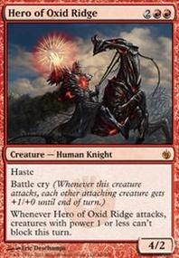 MTG Card: Hero of Oxid Ridge